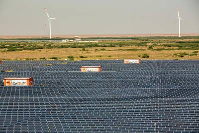 Impact Photograph - Asia's Largest Solar Power Station by Ashley Cooper