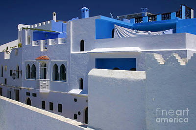 Asilah Meaning Authentic In Arabic Fortified Town On Northwest Tip Of Atlantic Coast Of Morocco Art Print