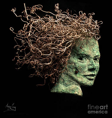 Tendrils Mixed Media - Ask Me Again by Adam Long