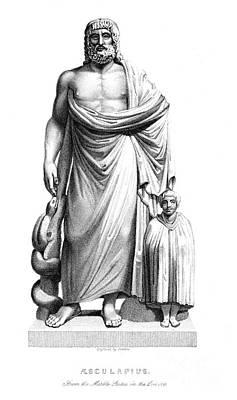 Asklepios Art Print by Granger