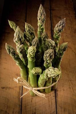 Asparagus Art Print by Aberration Films Ltd