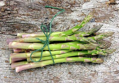 Asparagus Wall Art - Photograph - Asparagus Spears by Tony Craddock/science Photo Library