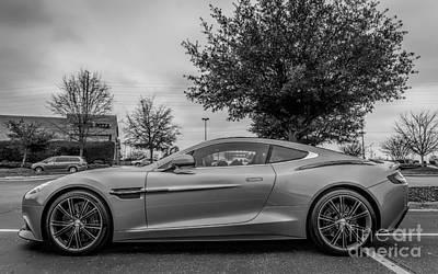 Aston Martin Vanquish V12 Coupe Art Print by Robert Loe
