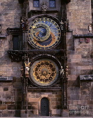 Photograph - Astronomical Clock Prague by Rafael Macia