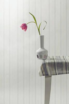 Table Cloth Photograph - At The Edge by Joana Kruse