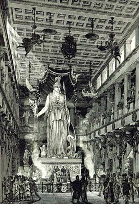 Athenian Acropolis, Parthenon Art Print