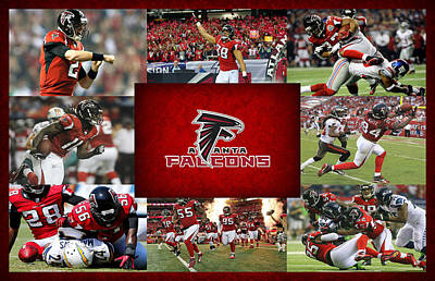 Atlanta Falcons Art Print