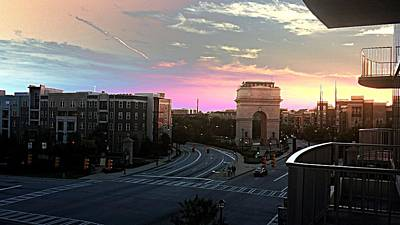 Sunsets Photograph - Atlantic Station Sunset Vista  by Kenny Glover