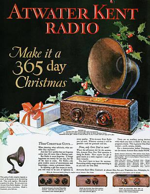 Atwater Kent Radio Ad, 1926 Art Print by Granger