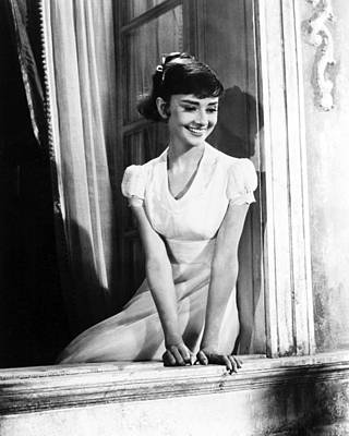 Audrey Photograph - Audrey Hepburn by Silver Screen