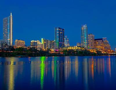 Austin Photograph - Austin Skyline by Tim Stanley