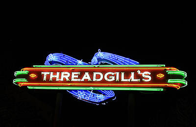 Photograph - Austin Texas Neon 01 by Tony Grider