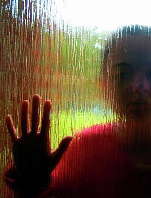 Human Condition Photograph - Autistic Girl by Hannah Gal