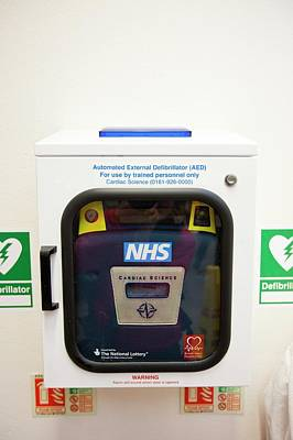 Shocking Photograph - Automated Defibrillator by Ashley Cooper