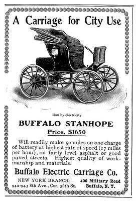 Automobile Ad, 1903 Art Print