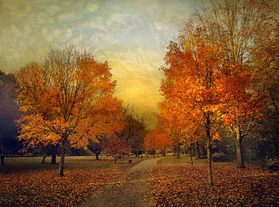 Autumn Afternoon Art Print