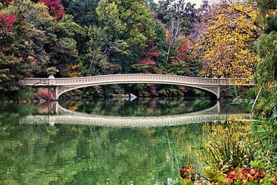 Photograph - Autumn At Bow Bridge by Cornelis Verwaal