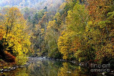 Virginia River Photograph - Autumn Elk River by Thomas R Fletcher