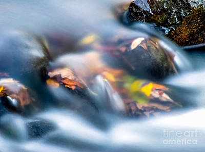 Natural Forces Digital Art - Autumn Falls by Optical Playground By MP Ray