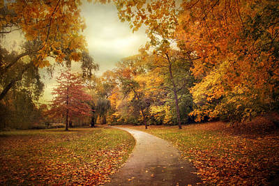 Photograph - Autumn In Peak by Jessica Jenney