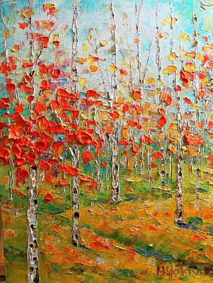 Painting - Autumn by Mirjana Gotovac