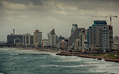 Photograph - Autumn Over Tel Aviv by Uri Baruch