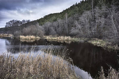 Photograph - Autumn Pond by Vladimir Kholostykh