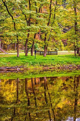 Pennsylvania Photograph - Autumn Reflection by Steve Harrington