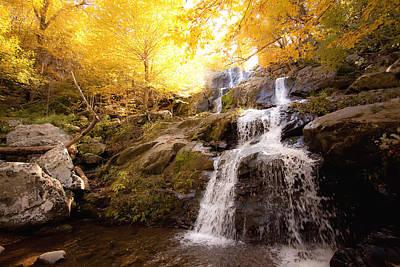Photograph - Autumn Waterfall by Jennifer Lycke