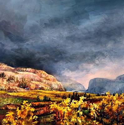 Autumn Wine Art Print
