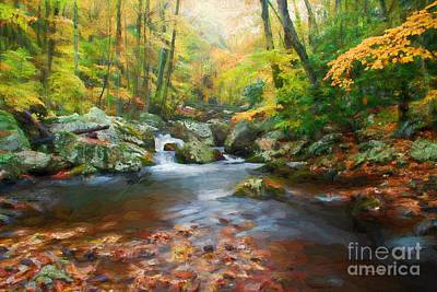 Autumns Calm Art Print by Darren Fisher