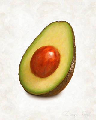 Avacado Painting - Avacado  by Danny Smythe