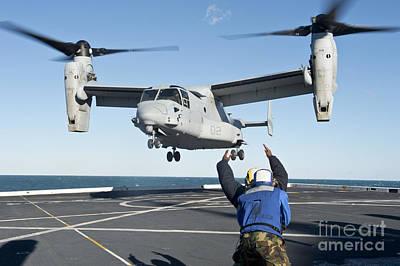 Celebrity Pop Art Potraits - Aviation Boatswains Mate Signals An by Stocktrek Images