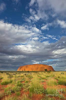 Ayers Rock Photograph - Ayers Rock Australia by Yva Momatiuk John Eastcott