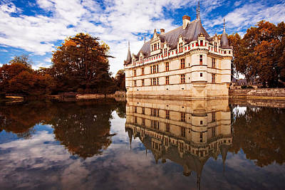 Photograph - Azay Le Rideau / Loire Valley by Barry O Carroll