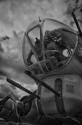 Photograph - B-17 Flying Fortress by Eric Miller