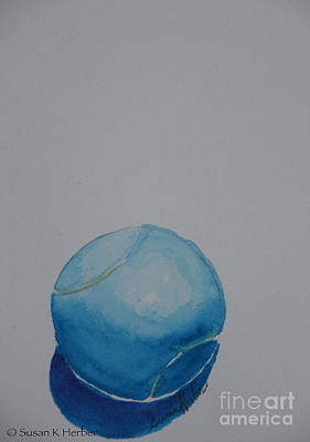 Painting - Baby Blue by Susan Herber
