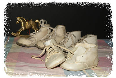 Photograph - Baby Shoes by Margie Avellino