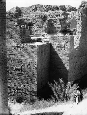 Babylon Ishtar Gate Art Print by Granger