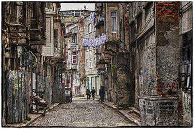 Mess Photograph - Back Street by Joan Carroll