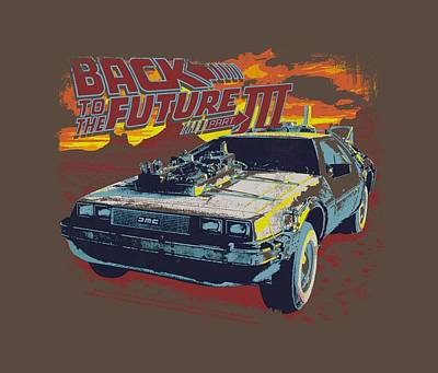 Fox Digital Art - Back To The Future IIi - Wild West by Brand A