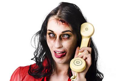 Bad News Phone Call Art Print by Jorgo Photography - Wall Art Gallery