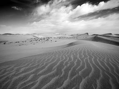 Photograph - Badain Jaran Desert by Lv Photography