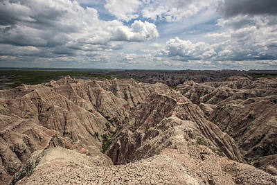 Photograph - Badlands South Dakota by Aaron J Groen