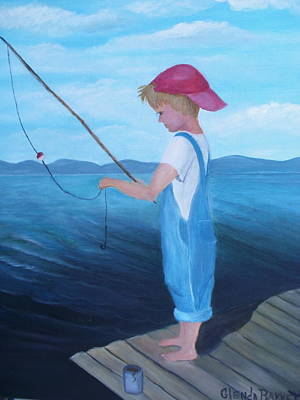 Bait Stealers Art Print by Glenda Barrett