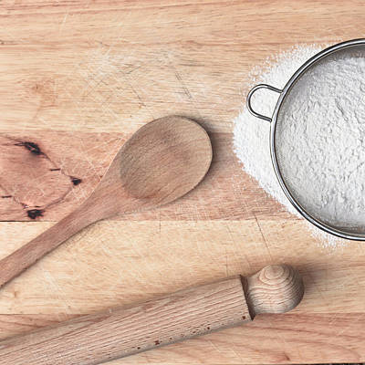 Flour Photograph - Baking  by Tom Gowanlock