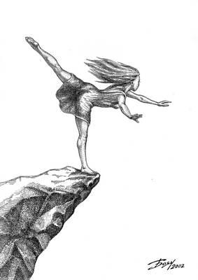 Balance Art Print by Boyan Donev