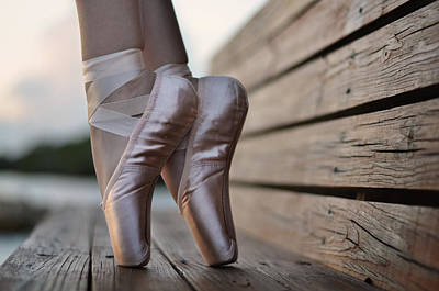 Pointe Shoes Photograph - Balance by Laura Fasulo