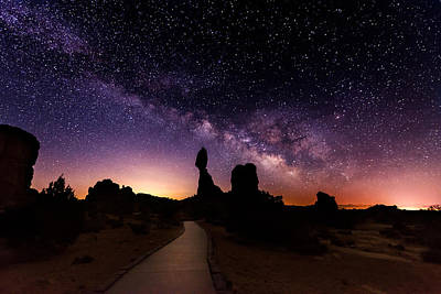 National Park Photograph - Balance Star Galactica by Dustin  LeFevre