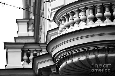 Photograph - Balcony Angles by John Rizzuto